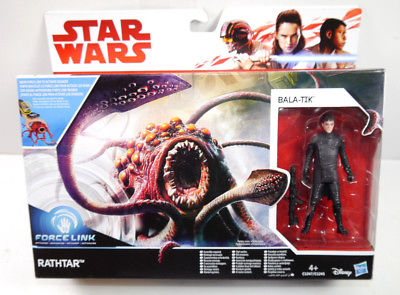 STAR WARS Force Link - Rathtar & Bala-Tik Actionfigur HASBRO Neu (L)