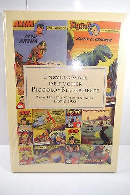 ENZYKLOPÄDIE DEUTSCHER PICCOLO-BILDERHEFTE Band 3  (1957  & 58 ) Neu  (WR8)