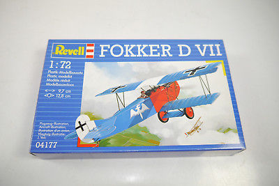 REVELL 04177 Fokker D VII  Flugzeug Plastik Modellbausatz 1:72 (K37)