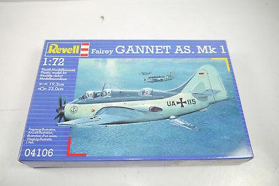 REVELL 04106 Fairey Gannet AS.Mk1 Flugzeug Plastik Modellbausatz 1:72 (K37)