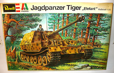 REVELL H-2105 Jagdpanzer Panzer Tiger Elefant Plastik Modellbausatz 1:35 (F3)