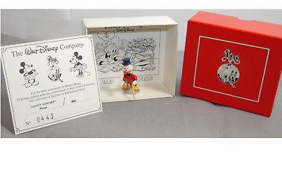 Disney Memory 4612  Dagobert  Uncle Scrooge  Metall Mini  Figur PIXI   ( L )