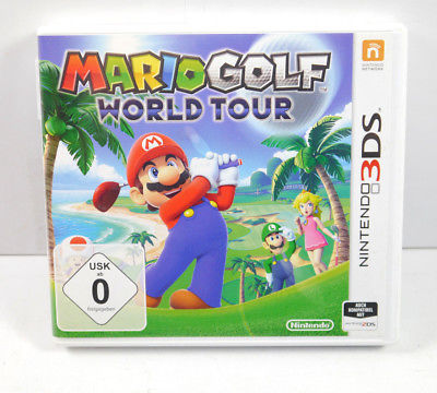MARIO GOLF - World Tour Modul mit OVP NINTENDO 3DS Deutsch (K3)