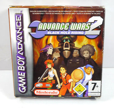 ADVANCE WARS 2 - Black Hole Rising Modul mit OVP NINTENDO Game Boy Advance (L)