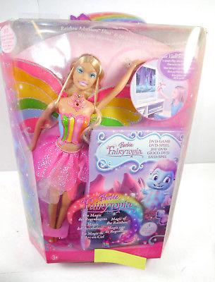 BARBIE Fairytopia - Elina Puppe mit DVD Spiel MATTEL Neu (F20)