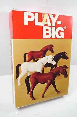 PLAY BIG 5620 Pferde Set 70er > NUR VERPACKUNG < (F30)