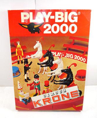 PLAY BIG 2000 Circus Zirkus Krone - 6080 Zirkusmanege Set 70er mit OVP (F18)