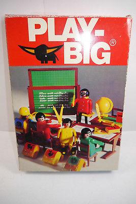 PLAY BIG   Schule Klassenzimmer 5940   70er mit OVP (F6)