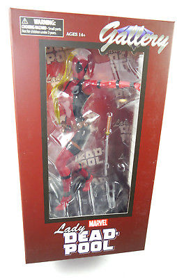 Marvel LADY DEADPOOL Figur PVC GALLERY Diamond Select ca.21cm Neu (L)