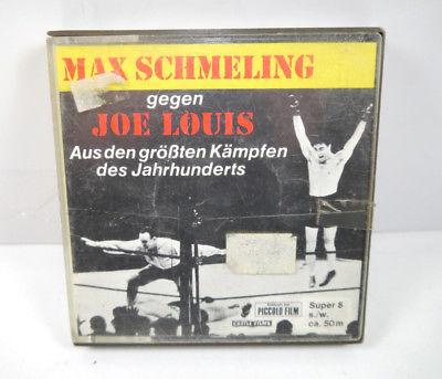 MAX SCHMELING gegen JOE LOUIS Super 8 s/w ca.50m PICCOLO FILM (K14)
