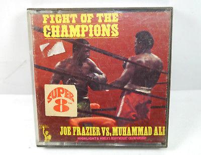 FIGHT OF THE CHAMPIONS Frazier vs. Muhammad Ali Super 8 HOME MOVIE (K14)