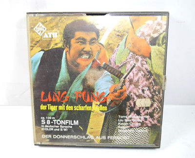 LING FUNG Tiger mit den scharfen Krallen S8 Tonfilm Color S/W UFA (K14)