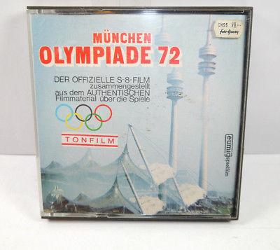 MÜNCHEN OLYMPIADE 1972 Super 8 Tonfilm Color EUMIG (K58)
