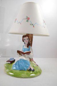 Die Schöne und das Biest  Beauty and the Beast  Lampe  SCHMID (F8 )