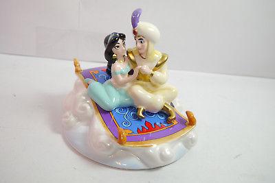ALADDIN Jasmin & Aladdin Spieluhr fliegender Teppich   Keramik SCHMID ( K3 )