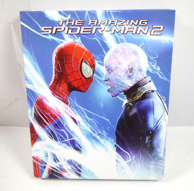 THE AMAZING SPIDER-MAN 2 - 3 Disc 3D Blu-ray Mediabook (WR4)