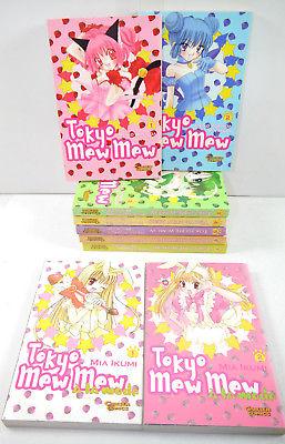 TOKYO MEW MEW Band 1 - 7 + á la Mode 1 - 2 Manga KOMPLETT CARLSEN (MF16)