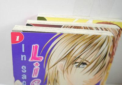 IN SACHEN ... Liebe Vertrauen Geheimnisse Band 1 2 3 KOMPLETT Planet Manga (MF7) 2
