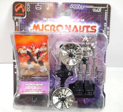 MICRONAUTS Retro Series - Acroyear grau grey Actionfigur PALISADES #07 (K64)