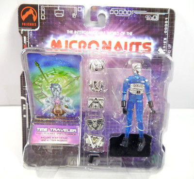 MICRONAUTS Retro Series - Time Traveler blau blue Actionfigur PALISADES #05 *K64
