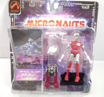 MICRONAUTS Retro Series - Space Glider rot red Actionfigur PALISADES #04 (K64)