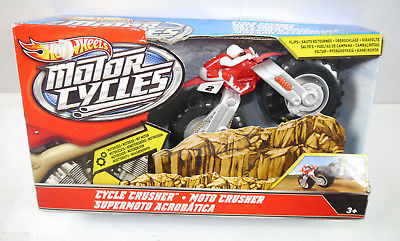 HOT WHEELS Motorcycles - Cycle Crusher Motorrad Pay Dirt MATTEL Neu (K67)