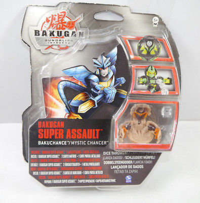 BAKUGAN Super Assault - Bakuchange Mystic Chancer Actionfigur SPIN MASTER (K67)