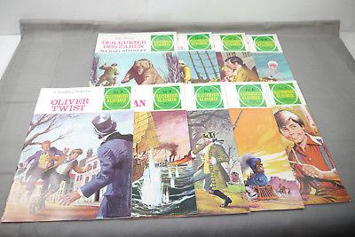 Illustrierte Klassiker Band 1 - 9  Bruguer Verlag  Zustand :  1 - 2   ( MF23 )