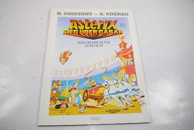Asterix  Sieg über Cäsar Das grosse Buch zum Film  Ehapa  SC  Z :1-2  / WR2