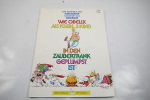 Wie Obelix als kleines Kind in den Zaubertrank geplumpst ist ehapa SC Z:2 / WR2