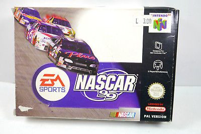 EA SPORTS Nascar 99 Spiel Nintendo 64 PAL Version - mit OVP (K34)