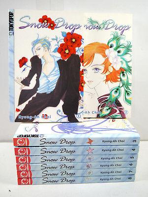 SNOW DROP Band 1 2 3 4 5 6 7 8 Manga Kyung-Ah Choi TOKYOPOP (MF4)