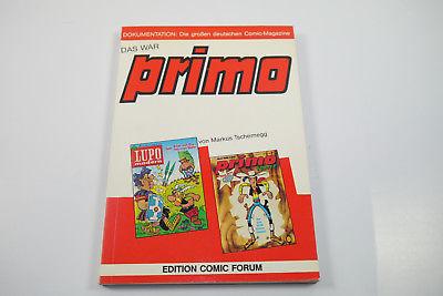 Das war primo Edition Comic Forum Buch Dokumentation   Z  : 2     (WR2)