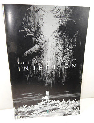 INJECTION # 1 Comic SC Großformat Ginat-Sized Ellis , Shalvey , Bellaire (WR2)
