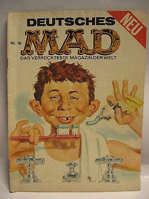 Deutsches   MAD   Nr . 16    Comic  das verrückteste Magazin der Welt   ( L )