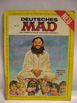 Deutsches   MAD   Nr . 15   Comic   das verrückteste Magazin der Welt   ( L )