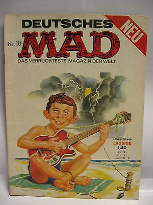 Deutsches   MAD   Nr. 10  Comic  Das verrückteste Magazin der Welt  ( L )