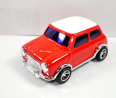 GARAGE MINI - Mini Cooper rot red Blechauto Modellauto ICHIKO mit OVP (K8)
