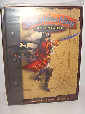 SWASHBUCKLING ADVENTURES Campaign Setting Rules Rollenspiel Buch (WR01)