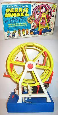 LITTLE PLAY PEOPLE Ferris Wheel  Riesenrad  S.S. KRESGE Co. - mit OVP (K43)
