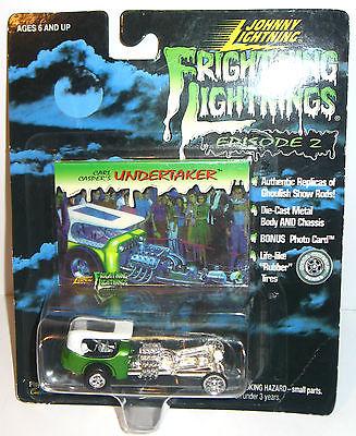 FRIGHTNING LIGHTNINGS Carl Casper's UNDERTAKER Johnny Lightning NEU (K26)
