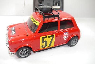 Nikko  Mini Cooper  ferngesteuert  1981 ca.18cm Zustand : sehr gut  (F12)