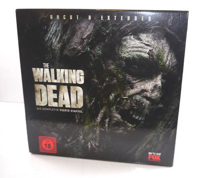 THE WALKING DEAD Komplette Staffel 3 UNCUT & EXTENDED Treewalker Blu-ray (F22)