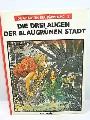 DIE GEFÄHRTEN DER DÄMMERUNG   2 Drei Augen der Blau... Comic SC COMIC ART(B7)