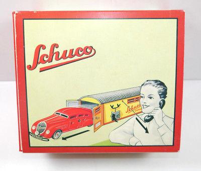 SCHUCO 01070 Garage mit Kommandoauto Auto rot Replica m.OVP (K39) 0