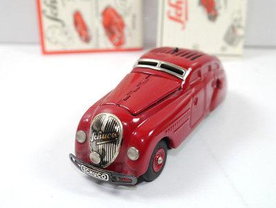 SCHUCO 01070 Garage mit Kommandoauto Auto rot Replica m.OVP (K39) 6