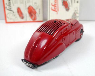 SCHUCO 01070 Garage mit Kommandoauto Auto rot Replica m.OVP (K39) 8