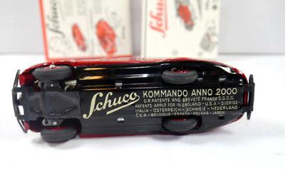 SCHUCO 01070 Garage mit Kommandoauto Auto rot Replica m.OVP (K39) 9
