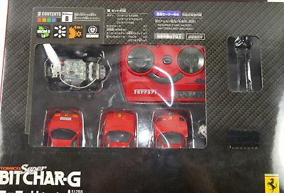 TOMY Super Bitchar-G Ferrari 3er Set Auto ferngesteuert - mit OVP (K65) 1