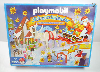 PLAYMOBIL 3955 Adventskalender SANTA CLAUS Neu (F14)